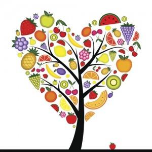 Groenten en fruit boom